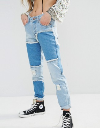 ASOS Boohoo Patched Jean